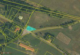 mapa (Prodej, pozemek, 645 m2, Horní Planá - Pernek), foto 3/5