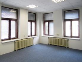 Pronájem, kancelářské prostory, 200 m2, Praha 2 - Nusle