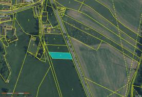 Prodej, stavební pozemek, 1609 m2, Chocenice, Plzeň - jih