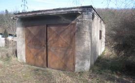 Prodej, garáž 24 m2, pozemek 438 m2, Kladno - Dubí