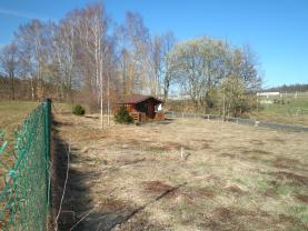 Pohled na pozemek (Prodej, trvalý travní porost, 1074 m2, Liberec), foto 4/7