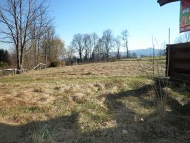 Pohled na pozemek (Prodej, trvalý travní porost, 1074 m2, Liberec), foto 3/7