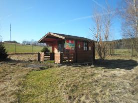 Pohled na chatku (Prodej, trvalý travní porost, 1074 m2, Liberec), foto 2/7