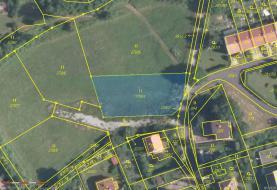 mapa (Prodej, stavební parcela, 1237 m2, Ústí nad Labem, Povrly), foto 2/9