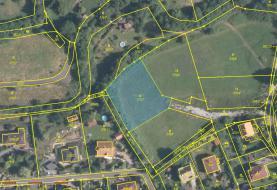mapa (Prodej, stavební parcela, 1537 m2, Ústí nad Labem, Povrly), foto 2/20