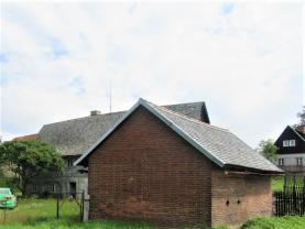 Pohled z komunikace (Prodej, chalupa, 1545 m2, Rynoltice), foto 2/9