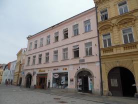 Pronájem, byt 1+1, Jindřichův Hradec - nám. Míru