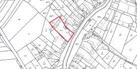 mapa (Prodej, stavební pozemek, 3065 m2, Modřejovice, Rakovník), foto 3/15