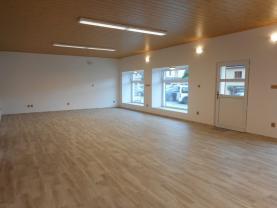 Pronájem, obchodní prostory, 144 m2, Sázava