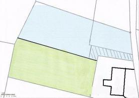 Prodej, stavební parcela, 3948 m2, Malá Morávka