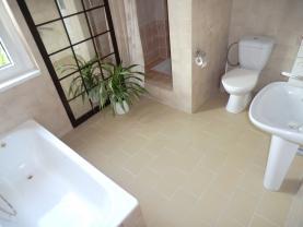 Koupelna (Prodej, rodinný dům, 123 m2, Perštejn, ul. Hlavní), foto 3/48