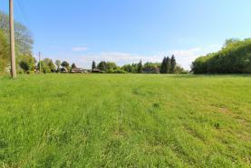 pohled na pozemek  (Prodej, stavební pozemek 1112 m2, Varnsdorf - Studánka), foto 2/6
