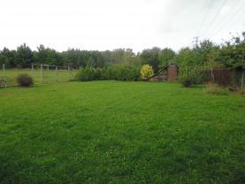 Prodej, zahrada, 489 m2, OV , Jeníkov