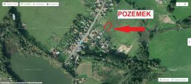 mapa (Prodej, stavební pozemek, 1318 m2, Ústí nad Labem-Habrovice), foto 4/16