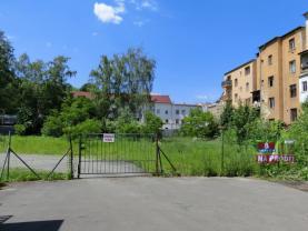 jjiný pohled na pozemek (Prodej, stavební pozemek, 1224 m2, Ústí nad Labem - centrum), foto 2/6