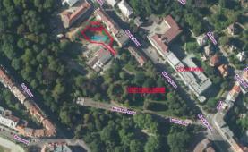 Letecký pohled (Prodej, stavební pozemek, 1224 m2, Ústí nad Labem - centrum), foto 3/6