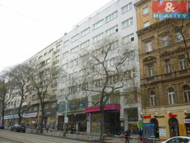 Pronájem, kancelářské prostory, 29 m2, Praha 2 - Vinohrady