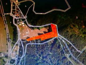 Prodej, les, 3577 m2, Mařenice