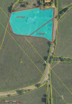 Mapa parcely (Prodej, stavební pozemky, 8121m2, Volfartice), foto 4/9