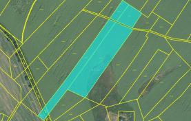 Prodej, orná půda, 14 730 m2, Dětenice