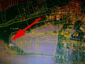 Prodej, orná půda, 3750 m2, Rousínov u Rakovníka