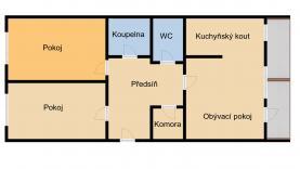Prodej, byt 3+kk, 75 m2, DV, Praha 9 - Černý Most