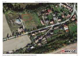 mapa (Prodej, stavební pozemek, 1178 m2, Makotřasy), foto 2/4