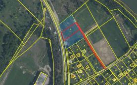 Prodej, pozemek, 1080 m2, Plzeň - Bolevec
