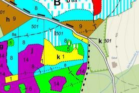 Mapa ISLH (Prodej, lesní pozemek, 20917 m2, Stachy), foto 2/3