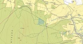 Katastrální mapa (Prodej, lesní pozemek, 20917 m2, Stachy), foto 3/3