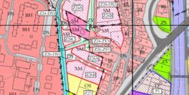 Výstřižek z územního plánu (Prodej, pozemek 2647 m2, Kopřivnice), foto 4/4
