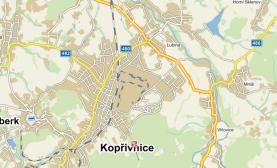 mapa 3 (Prodej, pozemek 2647 m2, Kopřivnice), foto 3/4