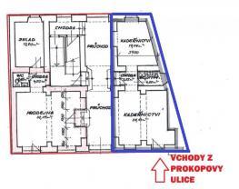 1 (Pronájem, obchodní prostory, 54 m2, Plzeň, ul. Prokopova), foto 4/7