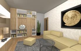 553762_Obývací pokoj (Prodej, byt 2+1 po rekonstrukci, 63 m2, Šumperk), foto 2/5