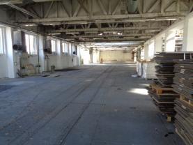 Vnitřní prostor (Pronájem, výrobní objekt, 2200 m2, Kolín, ul. Zengrova), foto 4/22