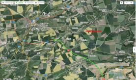 Batela-Podlůešín-foto3 (Prodej, zemědělský pozemek, 2111 m2, Podlešín), foto 2/3