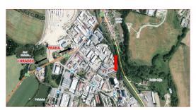 Pronájem, skladový prostor 165 m2, Pelhřimov