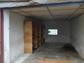 pohled do garáže (Prodej, garáž, 21 m2, Česká Lípa), foto 2/7