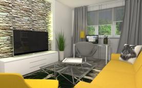 540802_obývací pokoj (Prodej, byt 2+1, 60 m2, Moravská Ostrava, ul. Varenská), foto 4/7