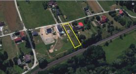 Prodej, stavební pozemek 1616 m2, Šenov, ul. K Trati