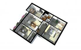 Prodej, byt 4+1, 101 m2, Česká Lípa, ulice Východní