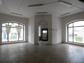 Pronájem, komerční prostor, 80 m2, OV, Jirkov, ul. Tyršova
