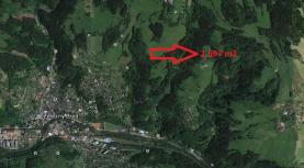 Prodej, lesní pozemky, 2697 m2, Hrubá Horka