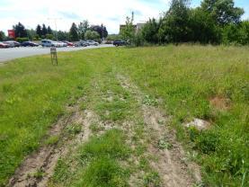 pohled na pozemek  (Prodej, stavební pozemek 829 m2, Cvikov), foto 2/4
