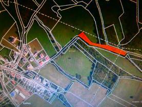 Prodej, les, 2818 m2, Teplice-Bystřany