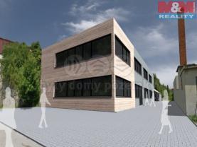 Prodej, pozemek, 2387 m2, Hranice, ul. Alešova