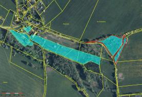 Prodej, pozemek, 7703 m2, Kojšice u Sušice