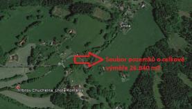 Prodej, louka, 26840 m2, Lhota Komárov