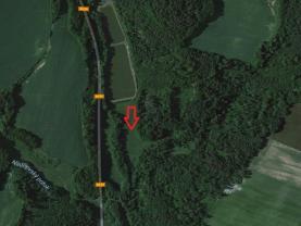 Prodej, pozemek, 4431 m2, Fulnek, část obce Děrné