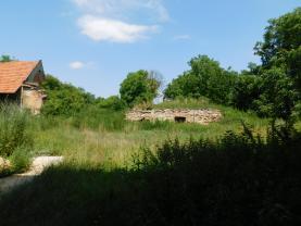 zahrada- stav nyní (Prodej, rodinný dům, 216 m2, Hořešovičky), foto 3/17